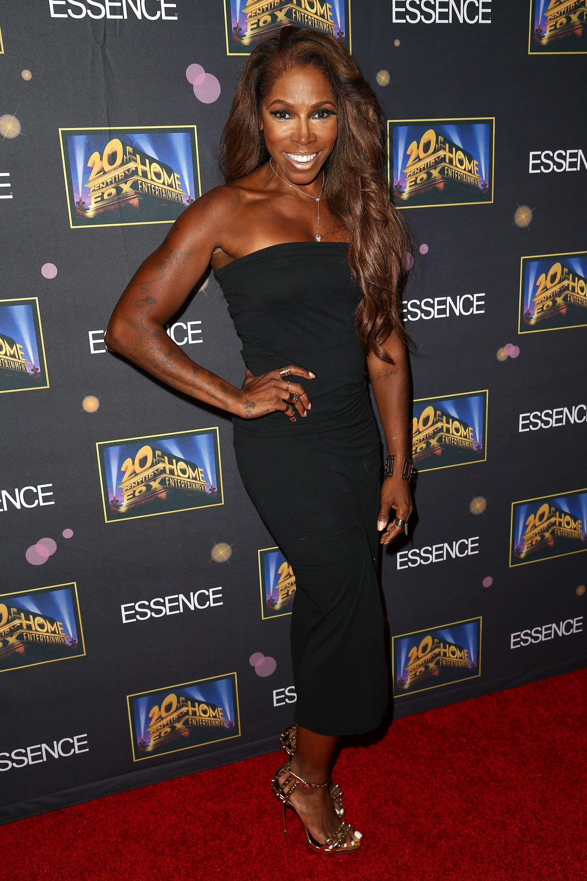 """Adrienne-Joi Johnson during the Essence """"A Toast To Primetime"""" event at Herringbone, Mondrian LA on October 2, 2014 in Beverly Hills, California. 