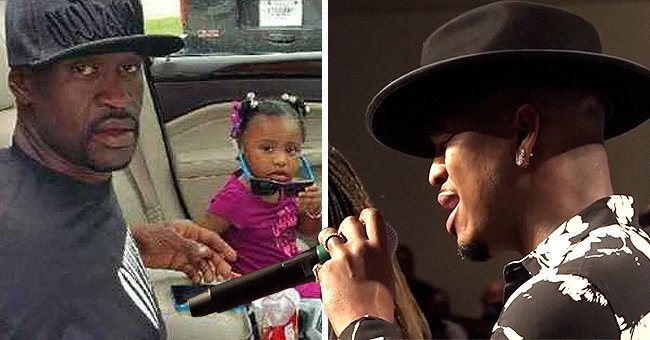 Ne-Yo Fights Back Tears as He Performs 'It's So Hard to Say Goodbye' at George Floyd's Memorial