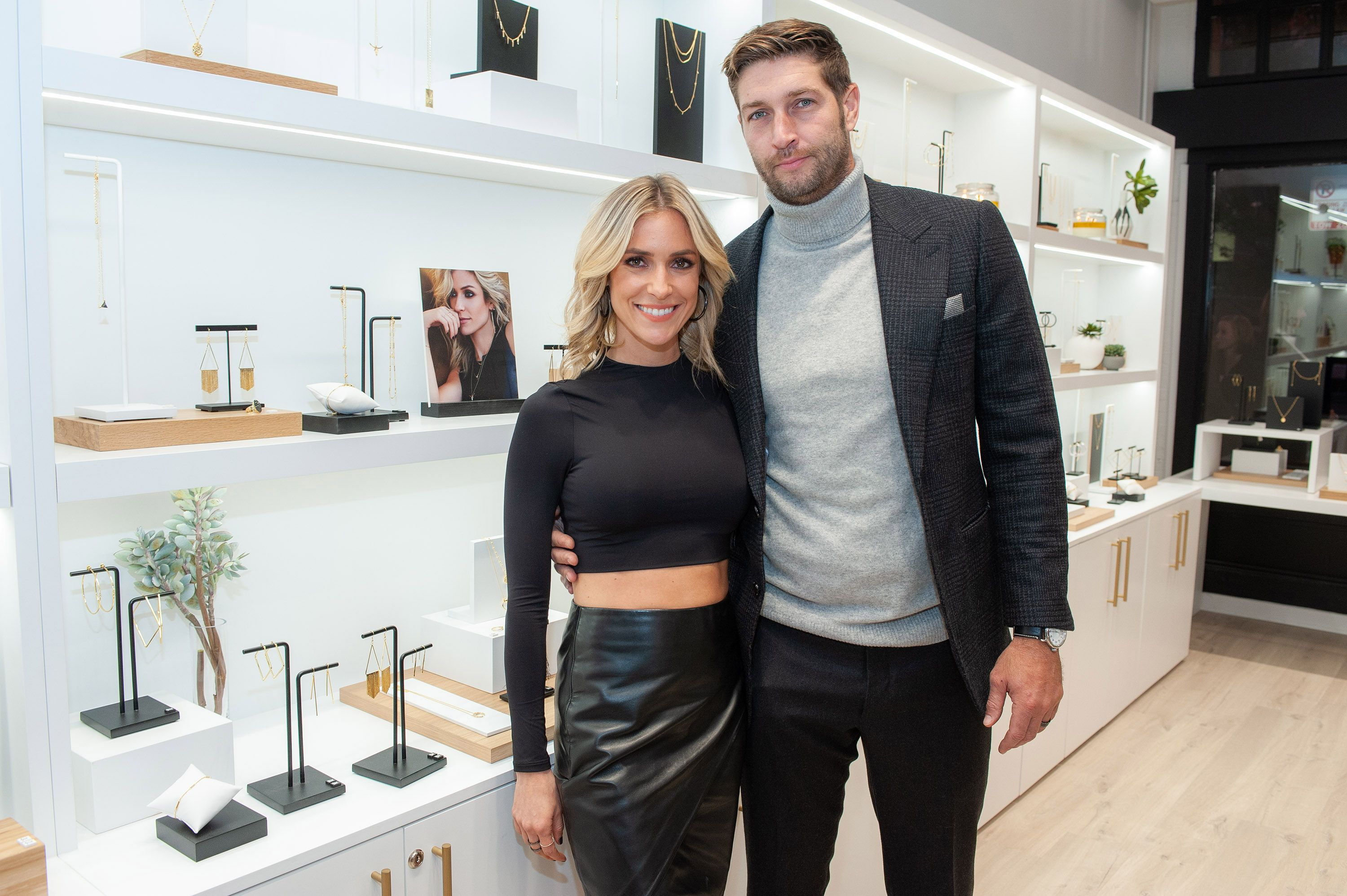 Kristin Cavallari and Jay Cutler attend the Uncommon James VIP Grand Opening at Uncommon James on October 25, 2019 in Chicago, Illinois. | Source: Getty Images