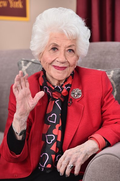 """Charlotte Rae at Hallmark's Home and Family """"Facts Of Life Reunion"""" in Universal City, California.