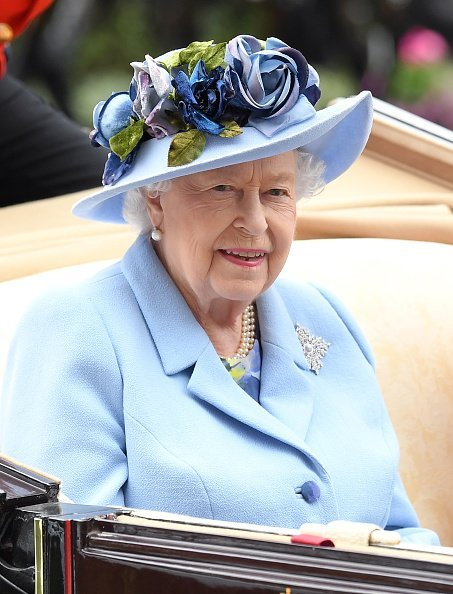 Queen Elizabeth II attending day one of Royal Ascot at Ascot Racecourse in Ascot, England.| Photo: Getty Images.