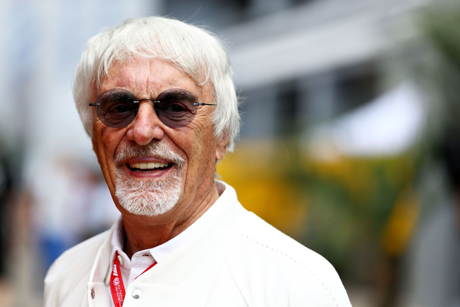 Bernie Ecclestone, Chairman Emeritus at the final practice for the F1 Grand Prix of Russia at Sochi Autodrom on September 28, 2019 | Photo: Getty Images