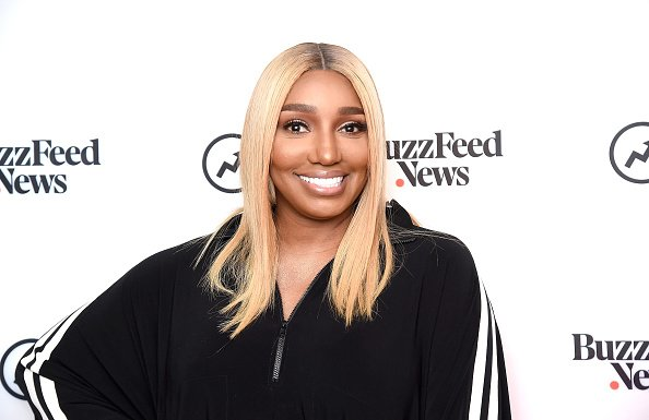 "Reality TV personality NeNe Leakes visits BuzzFeed's ""AM TO DM' to discuss the Bravo series ""The Real Housewives of Atlanta"" in New York City 