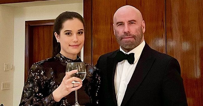 See John Travolta and Daughter Ella's New Year's Eve Get up – Does She Look like Her Late Mom Kelly?