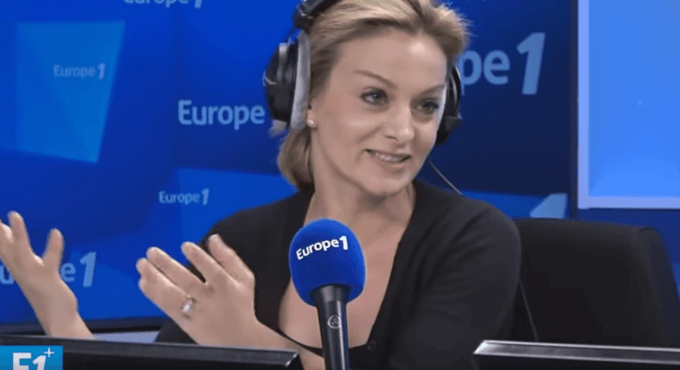 Audrey Crespo-Mara, journaliste de Europe 1, le 4 mars 2019. | Photo: Youtube/Europe 1