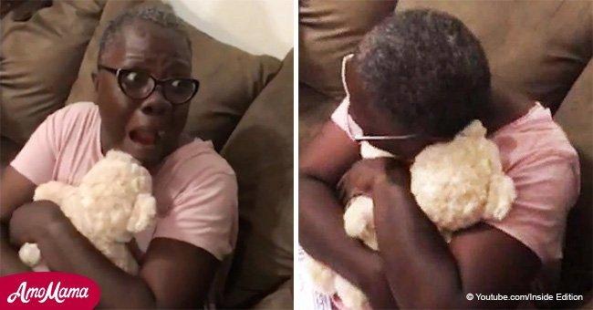 Woman breaks down in tears hearing voice of late mother from inside teddy bear