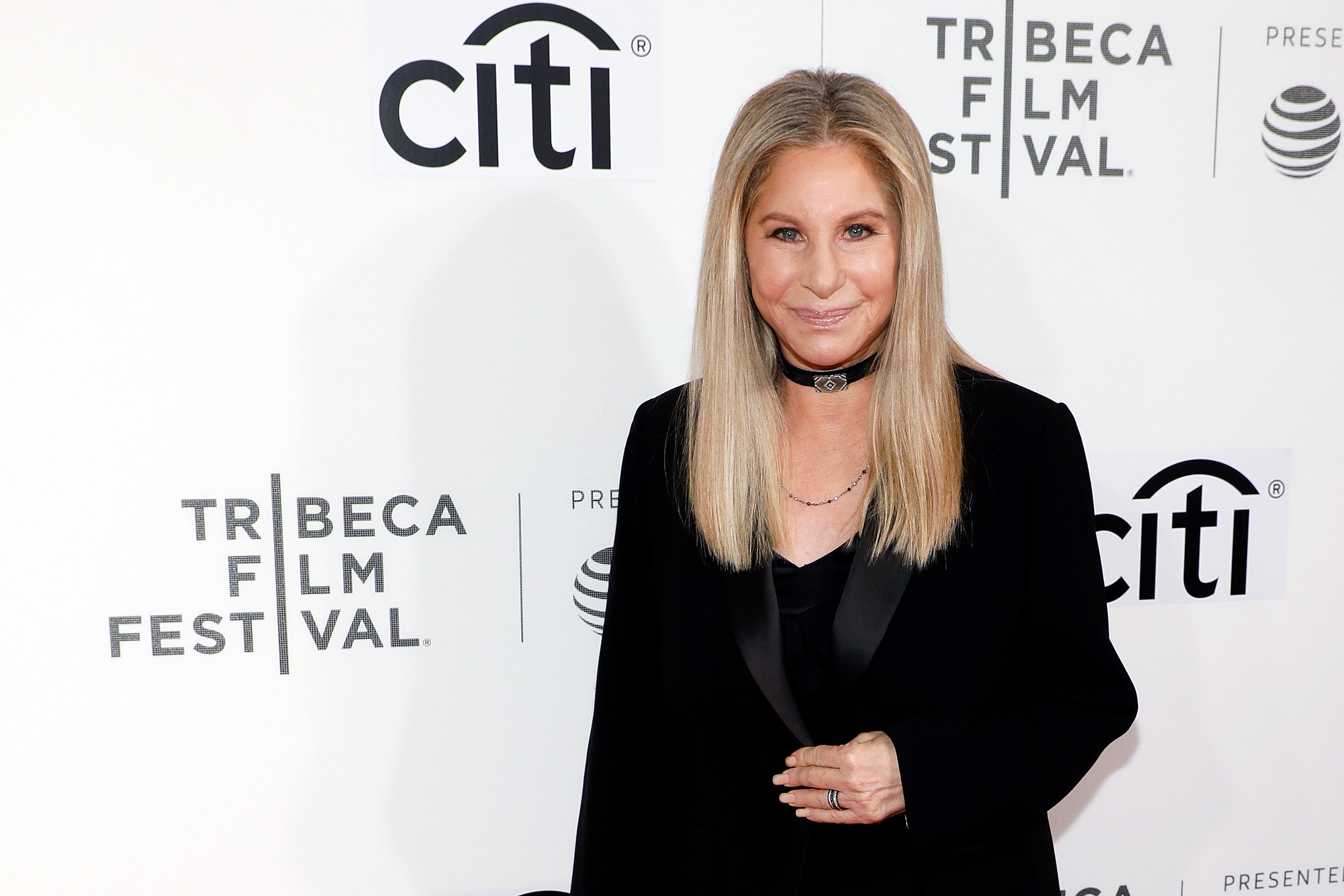 Barbra Streisand at the 2017 Tribeca Film Festival at Borough of Manhattan Community College on April 29, 2017  | Photo: GettyImages
