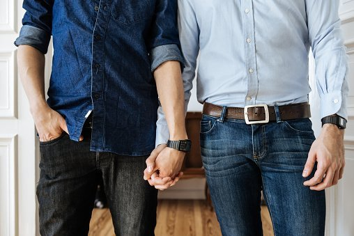 Gay Couple Holding Hands | Photo: Getty Images