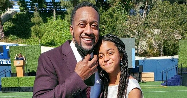 Jaleel White's Look-Alike Daughter Samaya Graduates from 6th Grade & He Honors Her with a Message