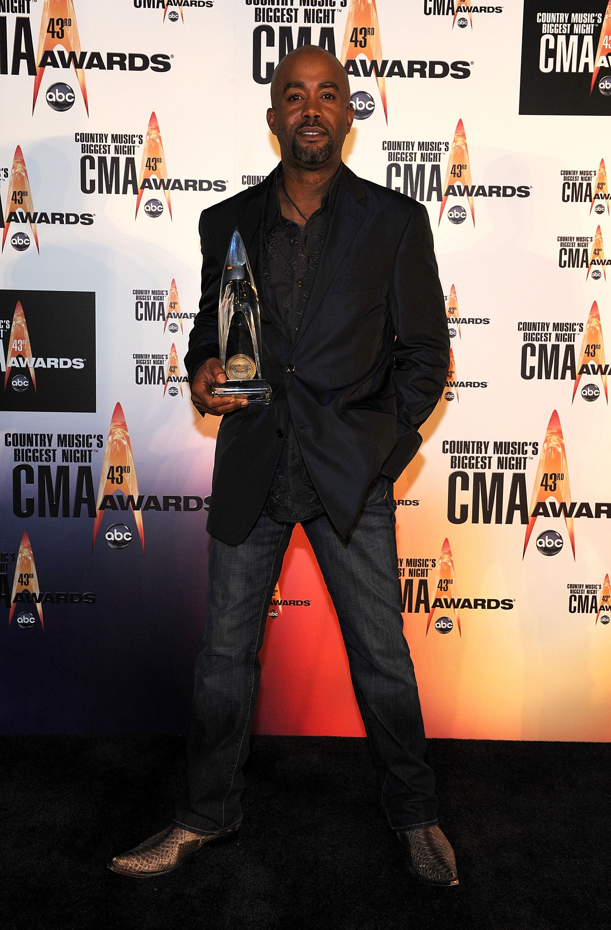 Darius Rucker at the Sommet Center on November 11, 2009 in Nashville, Tennessee. | Photo: Getty Images