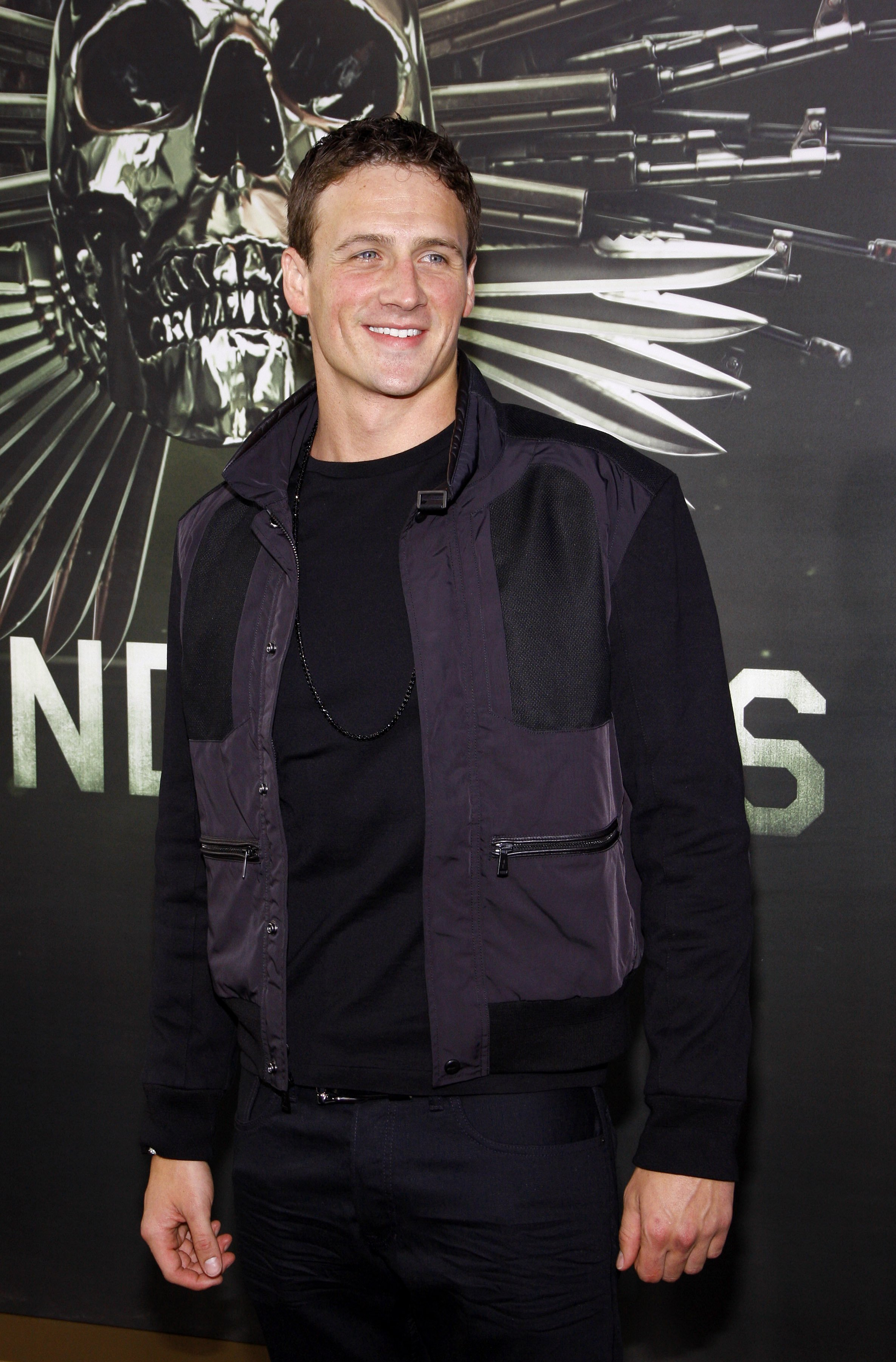 """Ryan Lochte was at the premiere of """"Expendables 2"""" at the Grauman's Chinese Theatre in Los Angeles in 2012. 