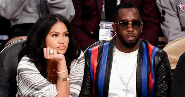 Diddy's Ex Cassie Puts Her Growing Baby Bump on Display in a White Jumper for a Maternity Shoot