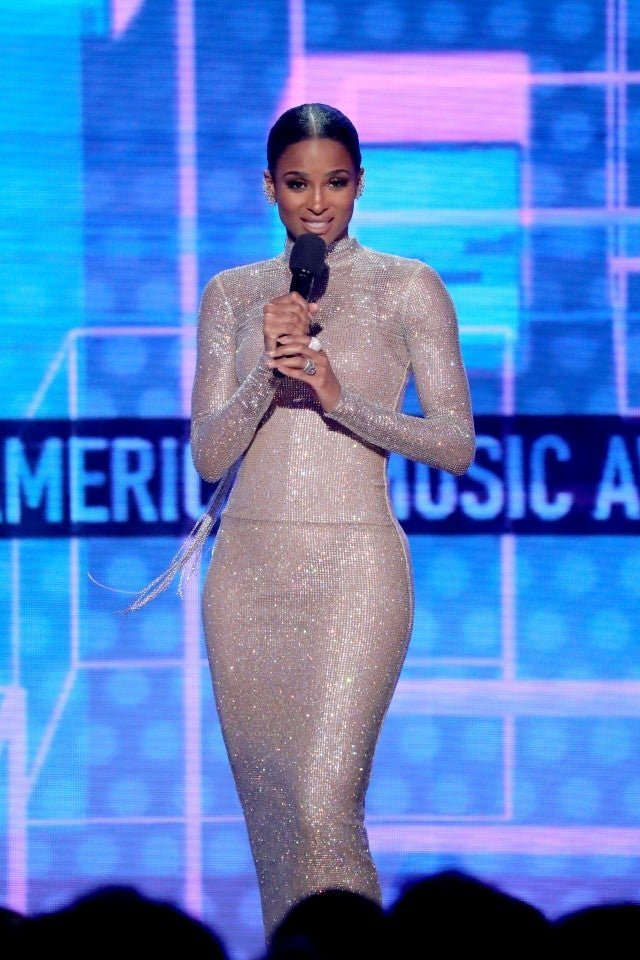 Ciara speaks onstage during the 2019 American Music Awards at Microsoft Theater in Los Angeles, California | Photo: Getty Images