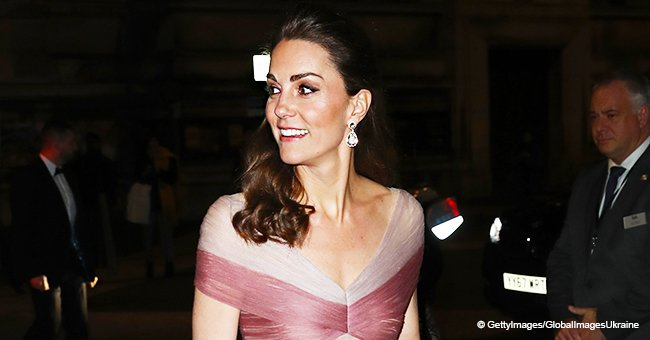Kate Middleton looks like a real Disney princess on an outing in a magnificent pale pink dress