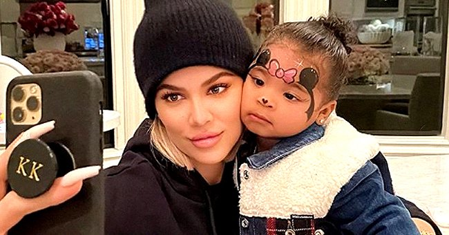 Khloé Kardashian from KUWTK Reminds Daughter True That She & Tristan Thompson Love Her in Sweet Post