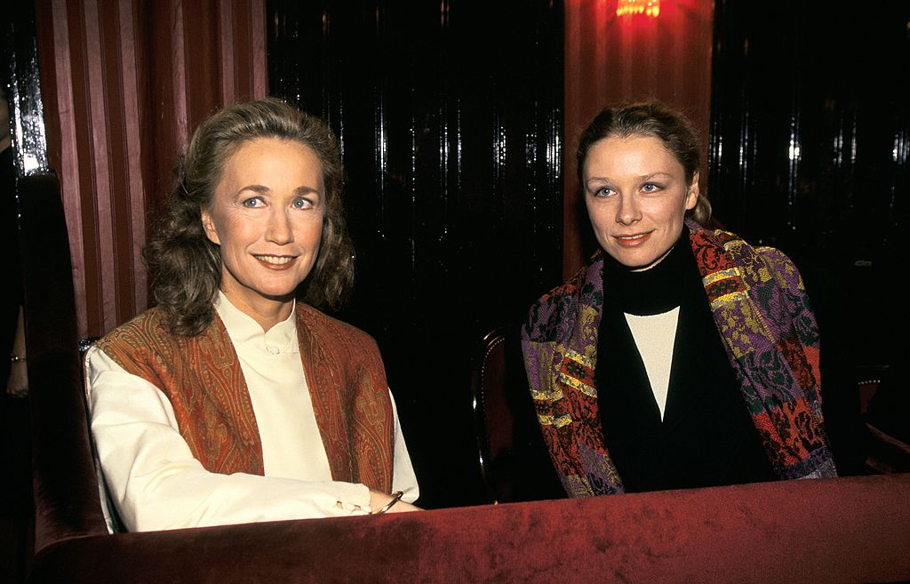 Brigitte Fossey and her daughter Marie | Photo: Getty images