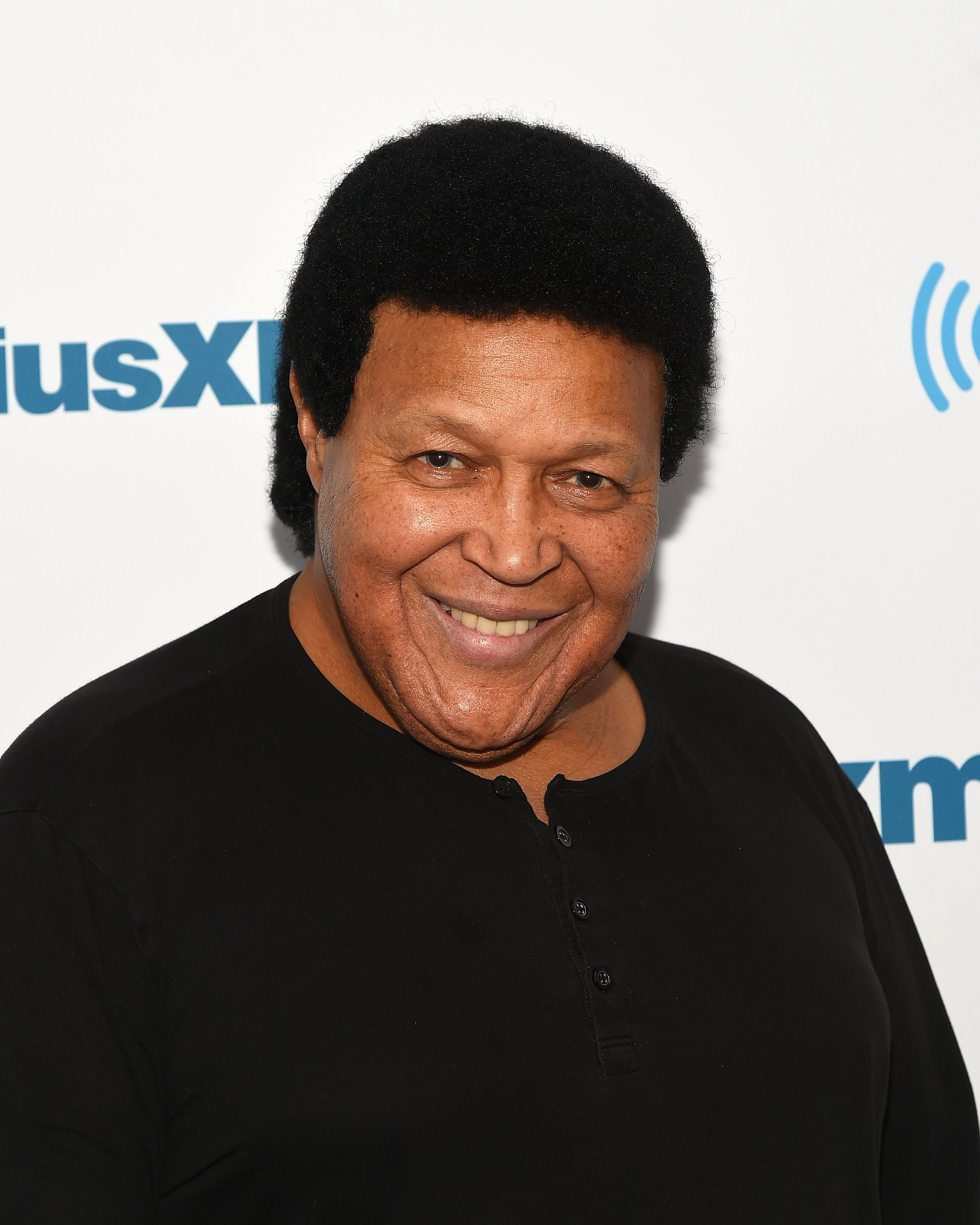Singer/songwriter Chubby Checker visits at SiriusXM Studios on March 23, 2016, in New York City. | Source: Getty Images.