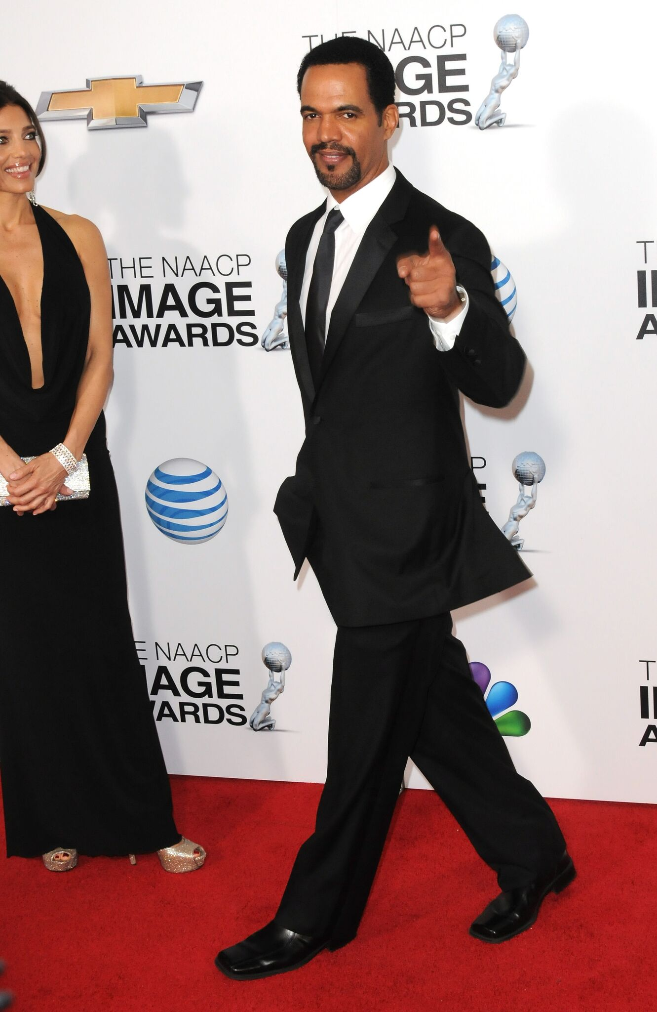 Actor Kristoff St. John arrives for the 44th NAACP Image Awards held at the Shrine Auditorium  | Getty Images