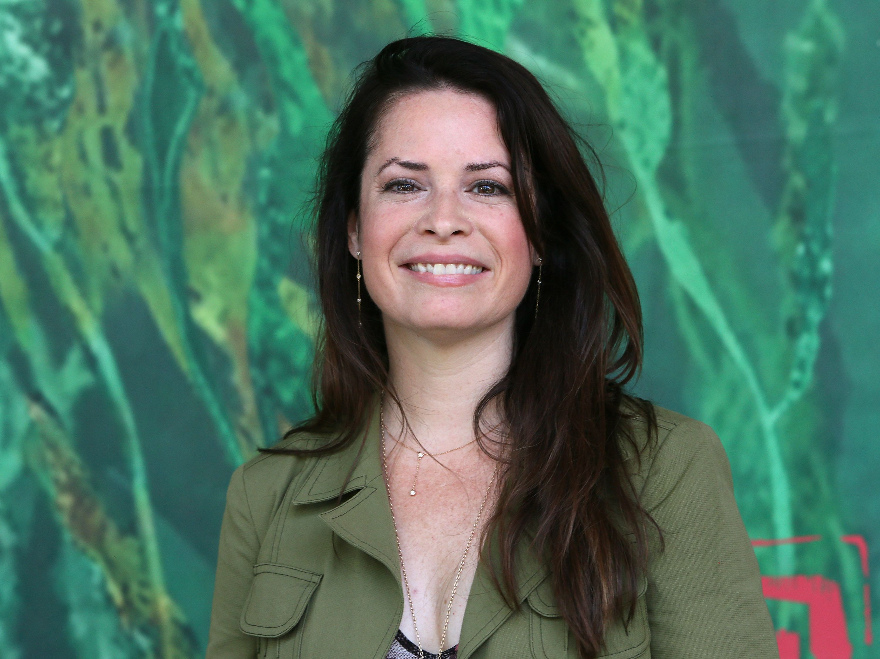 """Holly Marie Combs at the premiere of """"Kubo and the Two Strings"""" in 2016 in Universal City, California 