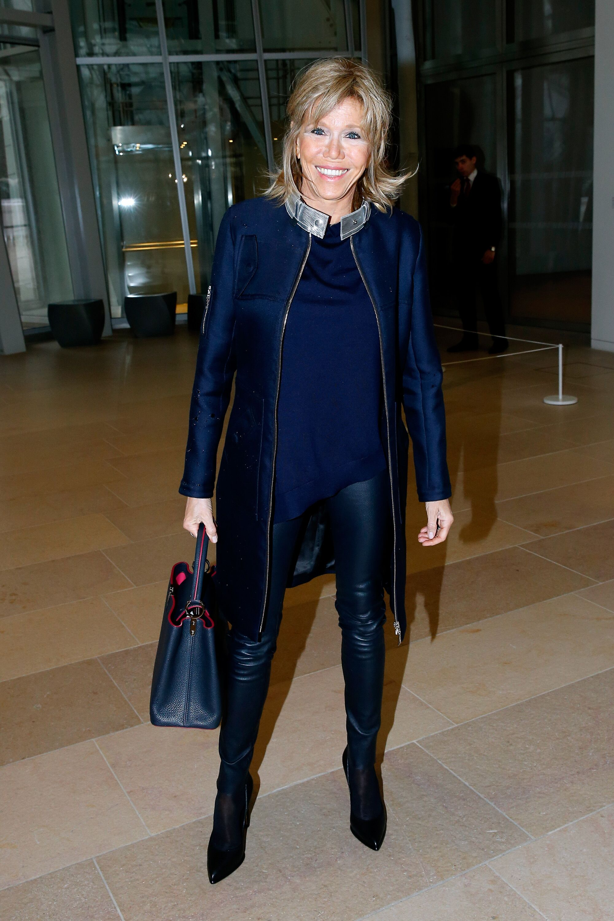 Brigitte Macron à la Fondation Louis Vuitton le 9 mars 2016 à Paris, France. | Photo : Getty Images
