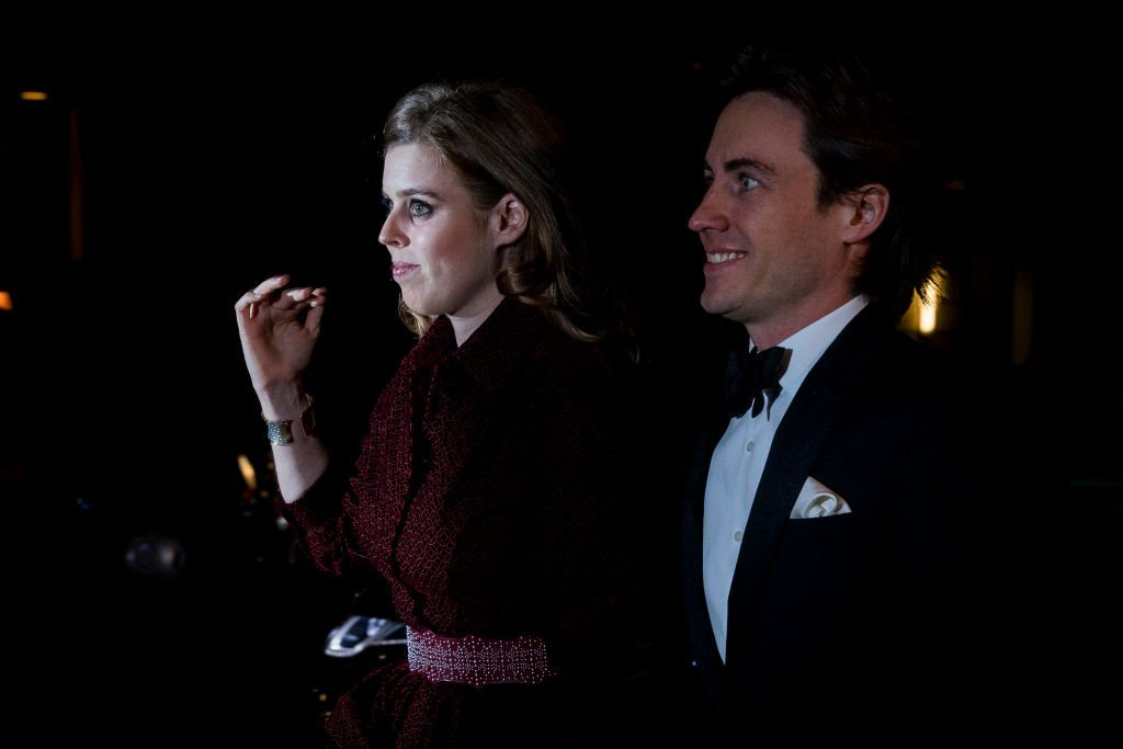 Princess Beatrice and Edoardo Mapelli Mozzi attend the Portrait Gala at National Portrait Gallery | Photo: Getty Images