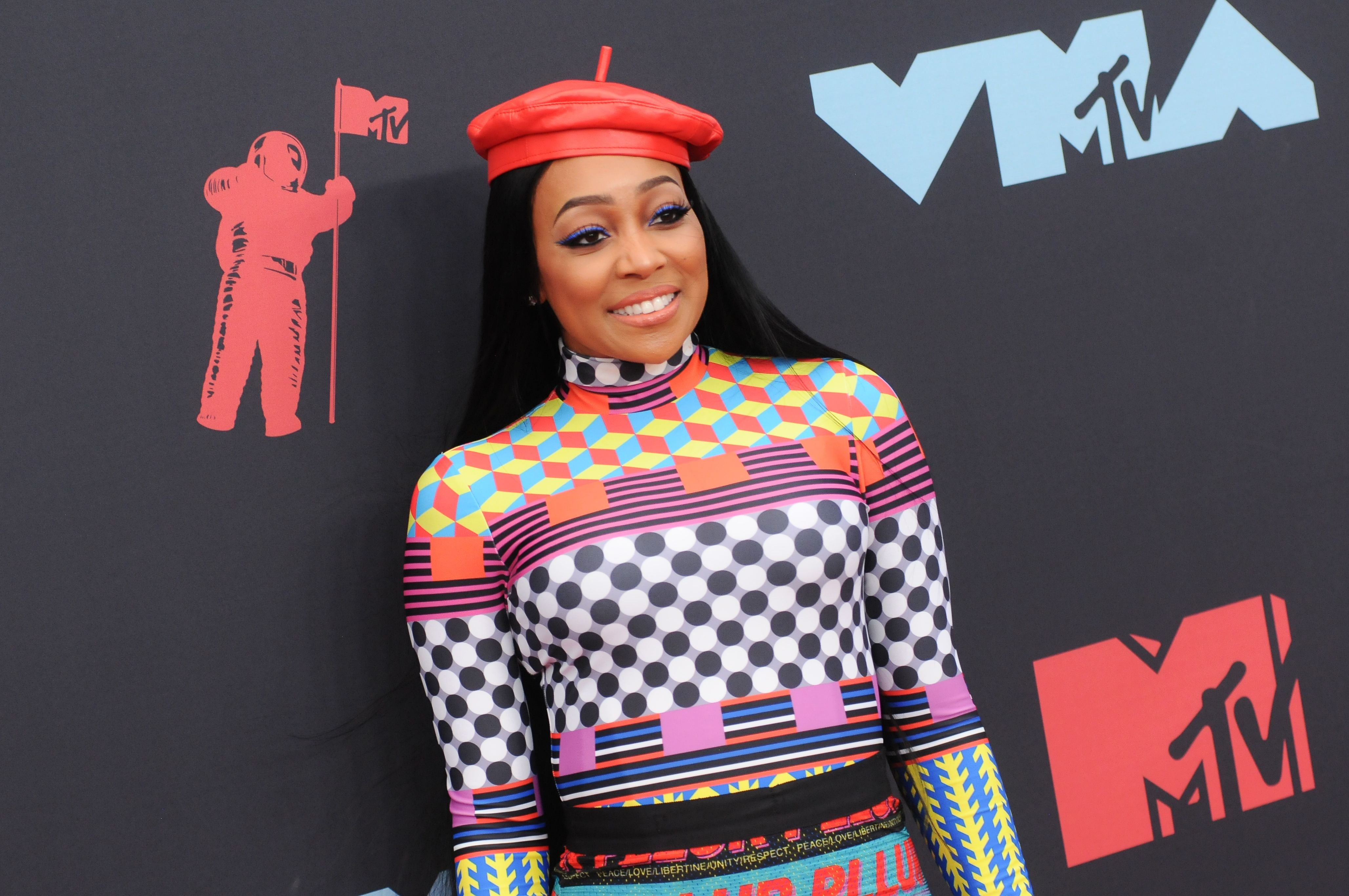 Monica Brown during the 2019 MTV Video Music Video Awards held at the Prudential Center in Newark, NJ. | Photo: Getty Images