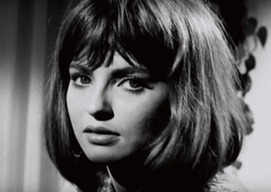 Portrait de Marie-France Pisier durant sa jeunesse. | Youtube/Reportage Express