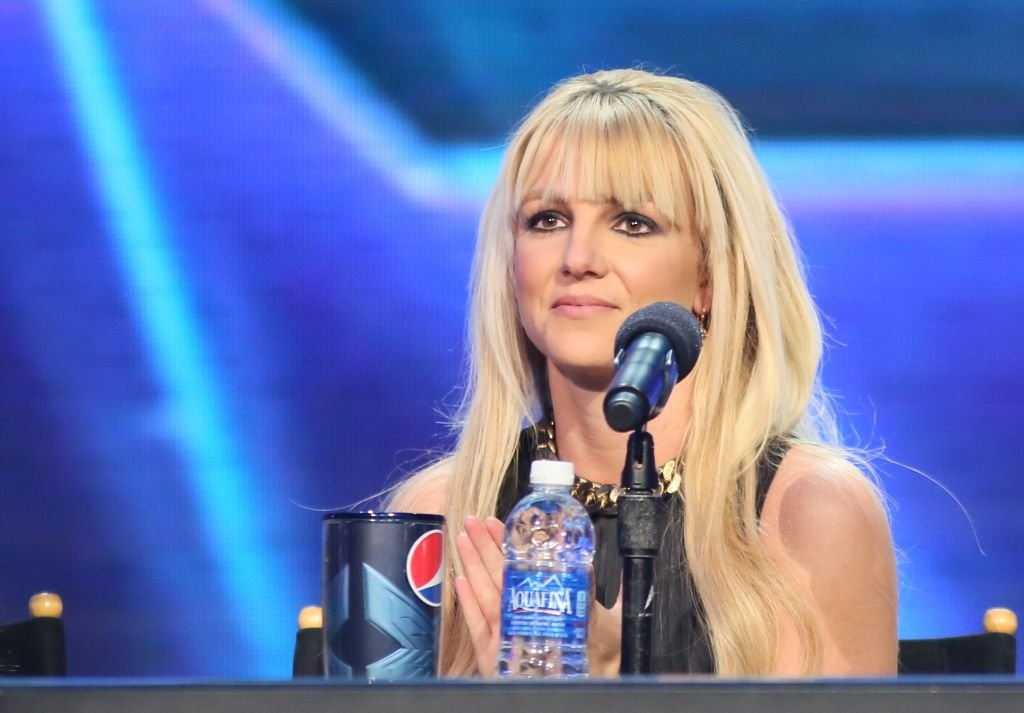 """Britney Spears attends """"The X Factor"""" season finale press conference at CBS Studios,  December 2012 