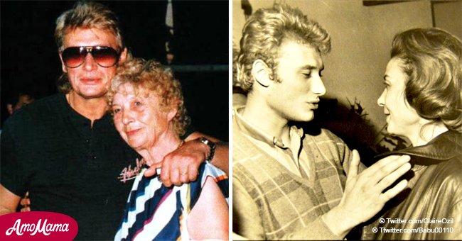 """Huguette Clerc, la mère de Johnny Hallyday: pourquoi il a refusé de l'appeler """"maman"""""""