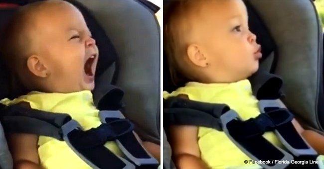 Un adorable bébé donne une interprétation spectaculaire d'une chanson populaire et c'est incroyable