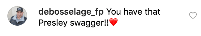Fan comment on Riley Keough's post. | Source: Instagram:RileyKeough