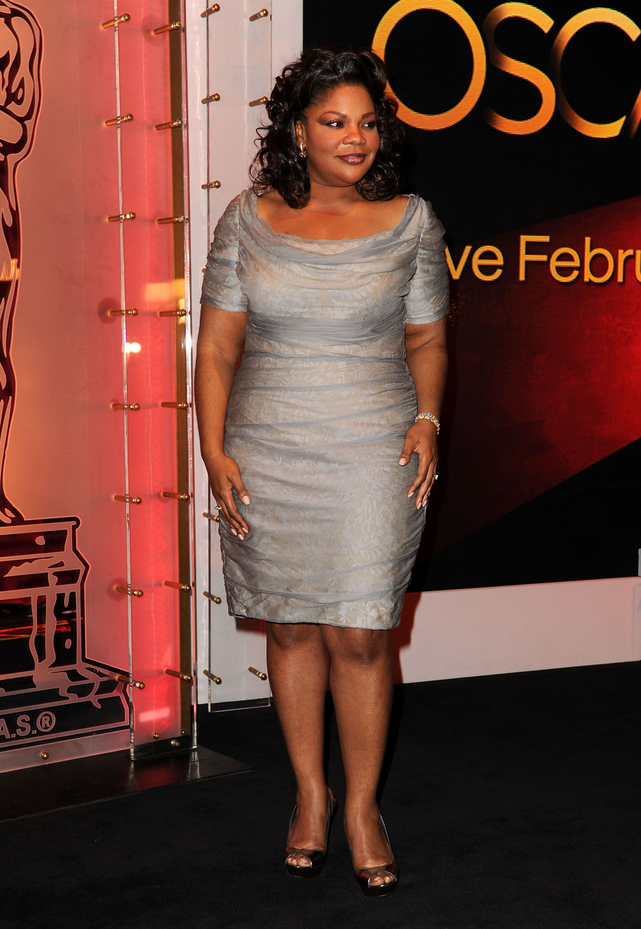 Mo'Nique at the Academy Awards Nominations Announcement on January 25, 2011 in Beverly Hills. | Photo: Getty Images