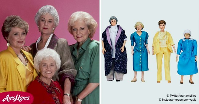 'Golden Girls' fans go crazy over this look-alike puppet set right before Christmas
