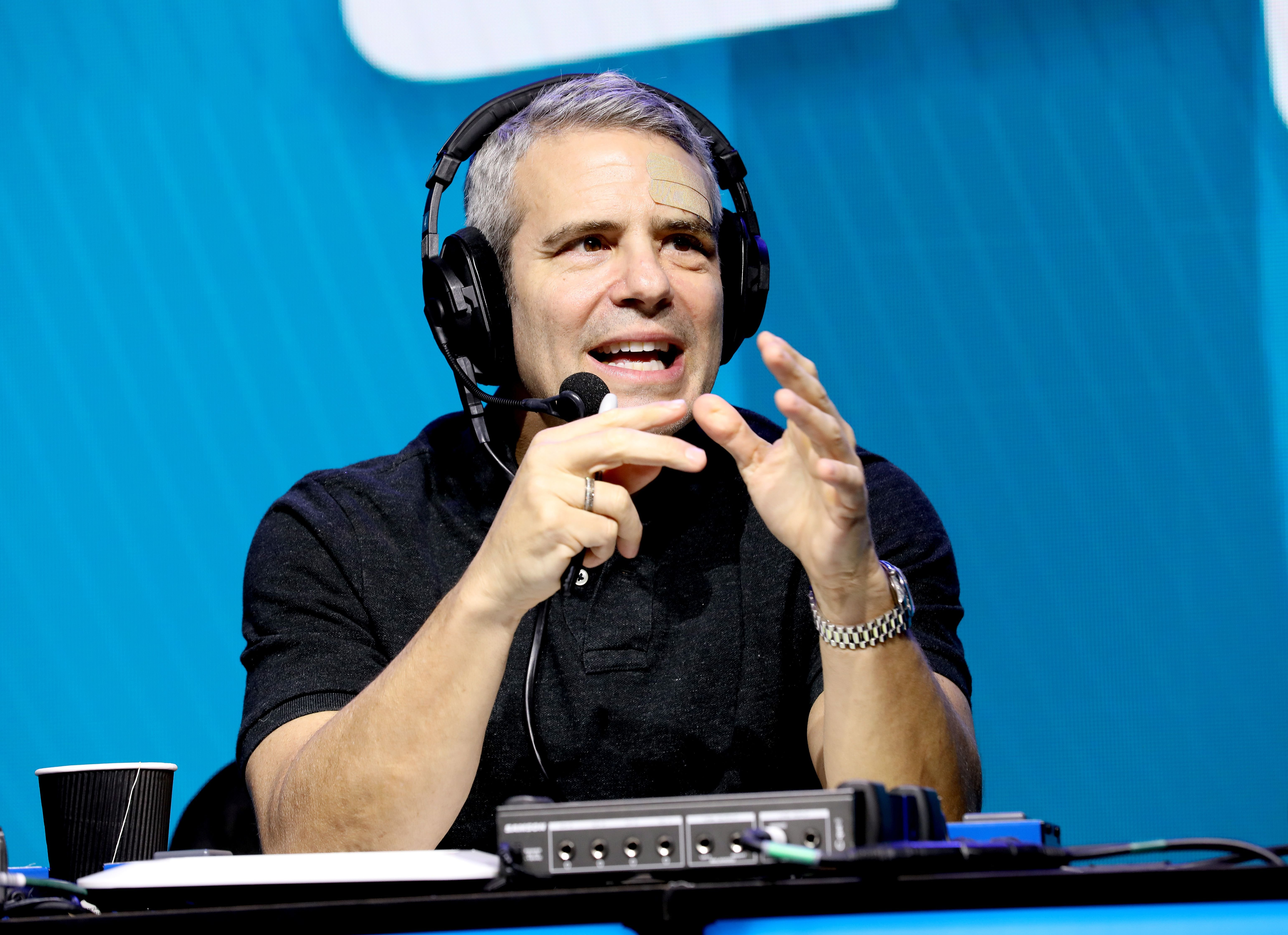 Andy Cohen during the Super Bowl LIV for SiriusXM on January 31, 2020, in Miami, Florida.   Source: Getty Images