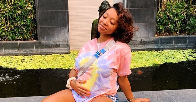 Tiny Harris' Daughter Zonnique Flaunts Impressive Makeup & Nose Piercing in a Stunning Photo