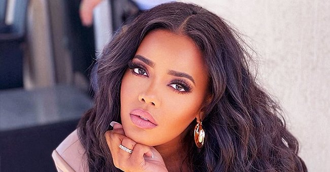 Angela Simmons Leaves Little to Imagination as She Displays Her Curves in a Sizzling Swimsuit