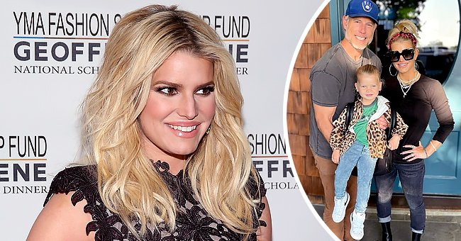 Jessica Simpson and Eric Johnson's daughter Birdie Mae goes to school | Photo: Getty Images | instagram.com/jessicasimpson