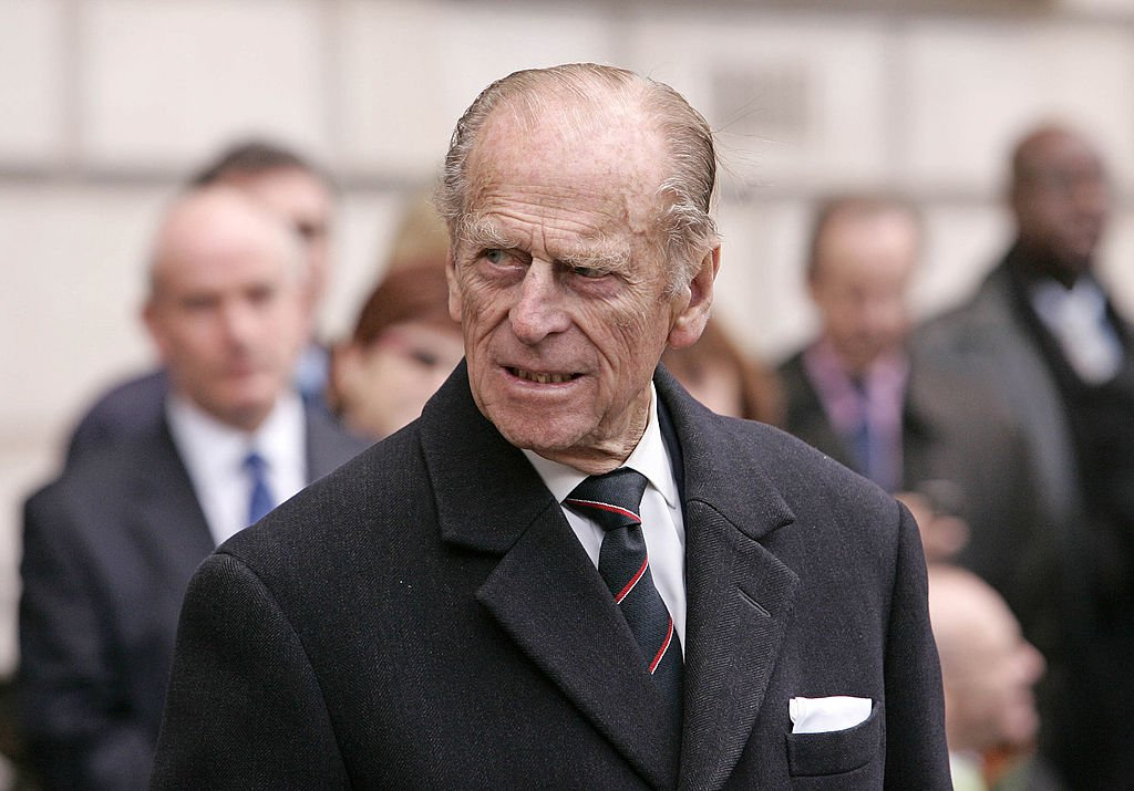 Prince Philip, Duke of Edinburgh attends the unveiling of the Jubilee Walkway panel on Parliament Square on November 19, 2007   Photo: Getty Images