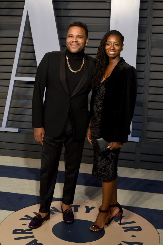 Anthony Anderson and Alvina Stewart attends the 2018 Vanity Fair Oscar Party  | Getty Images