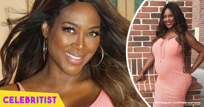 Kenya Moore accused of faking pregnancy after 'breakdancing' in video shared by Kandi Burruss