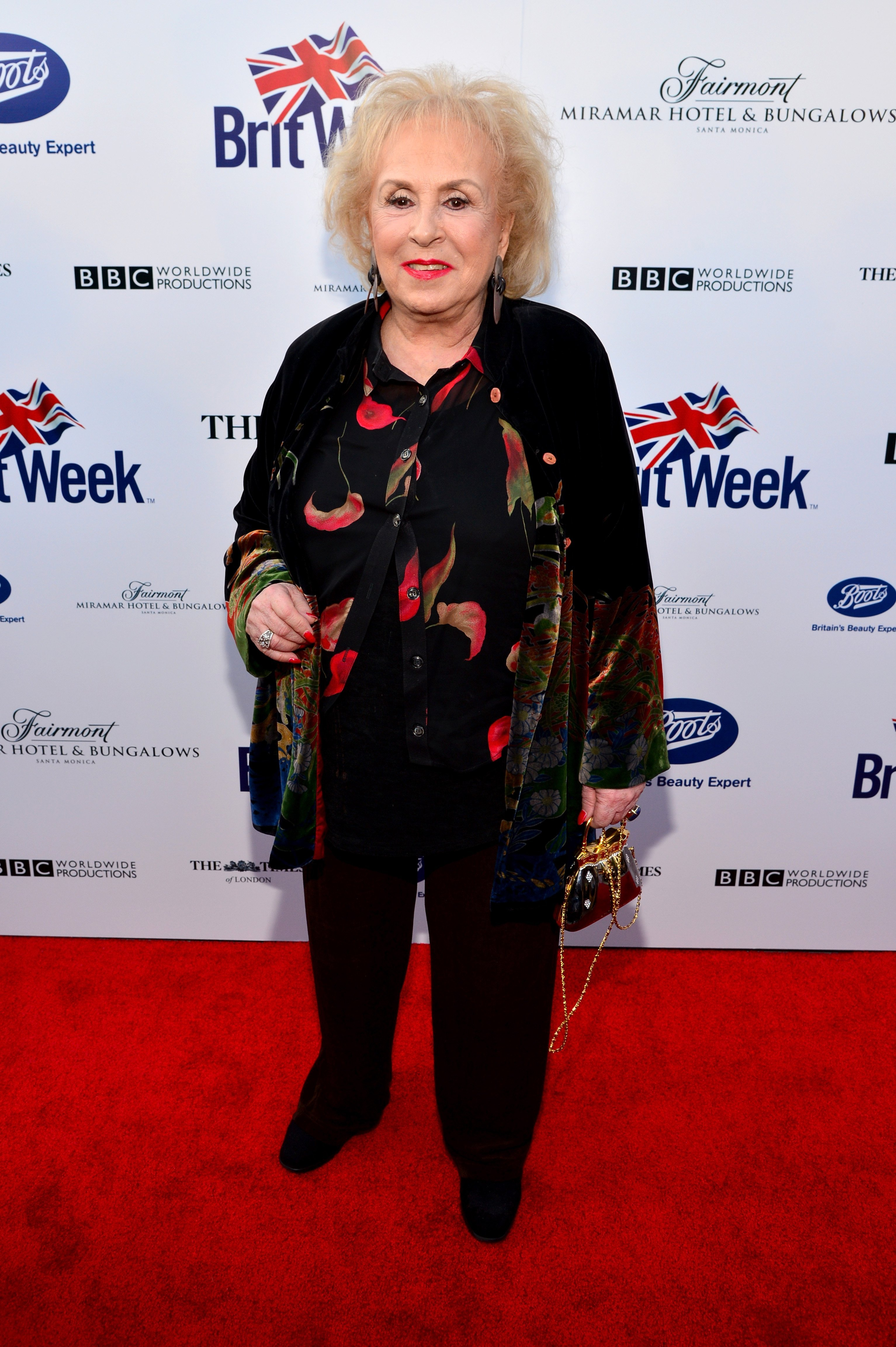 Doris Roberts attends the 8th Annual BritWeek Launch Party at a private residence on April 22, 2014, in Los Angeles, California. | Source: Getty Images.