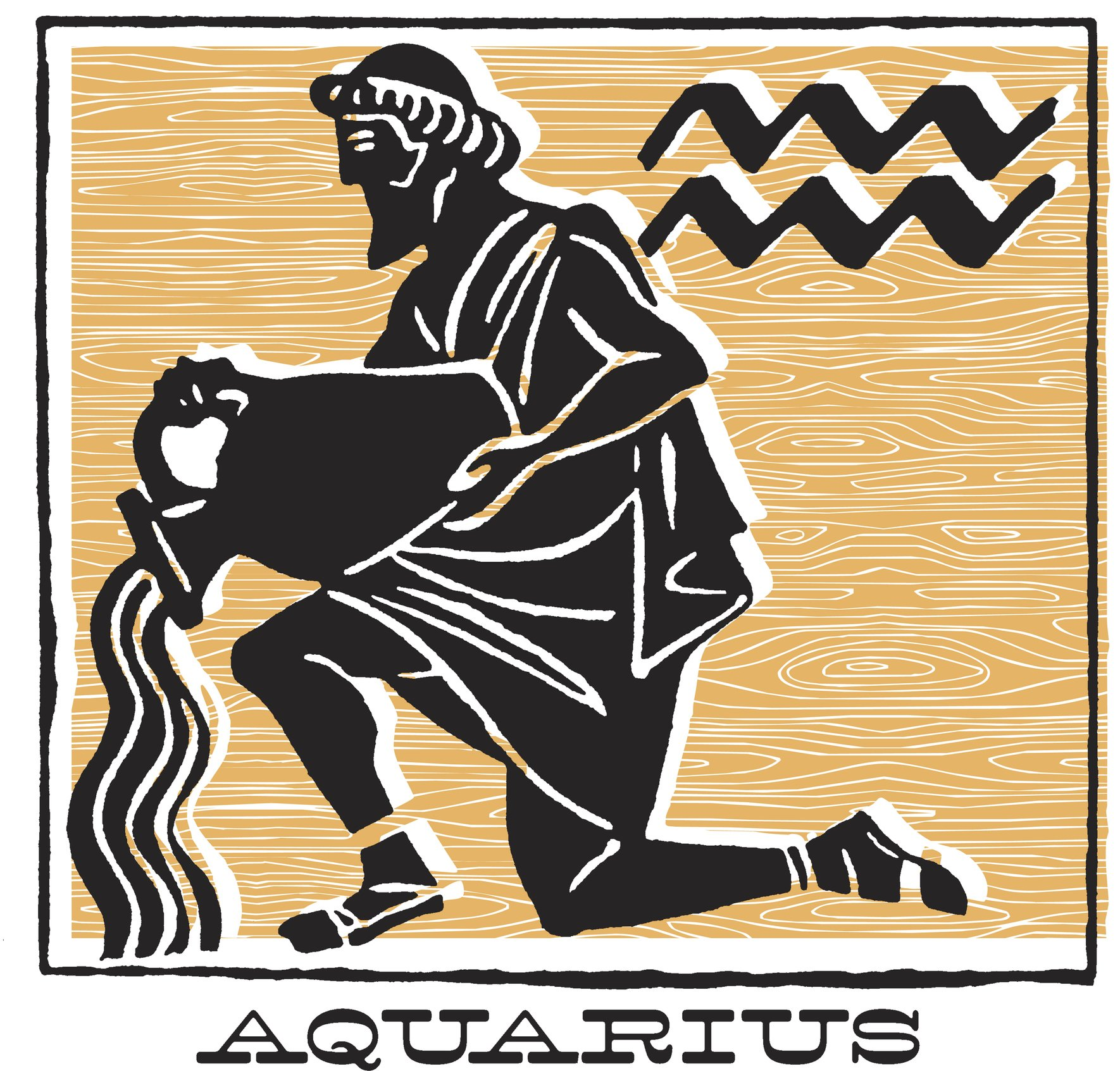 The Water-Carrier of the Aquarius Sign | Photo: Getty Images