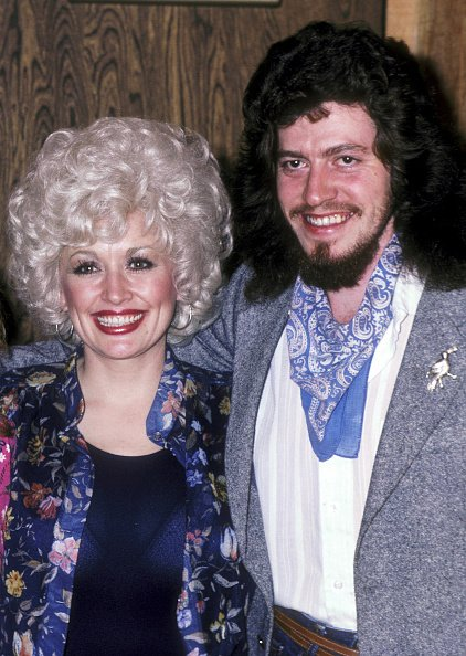 Dolly Parton and Floyd Parton at Bearsville Studios in North Hollywood, California on January 15, 1981. | Photo: Getty Images