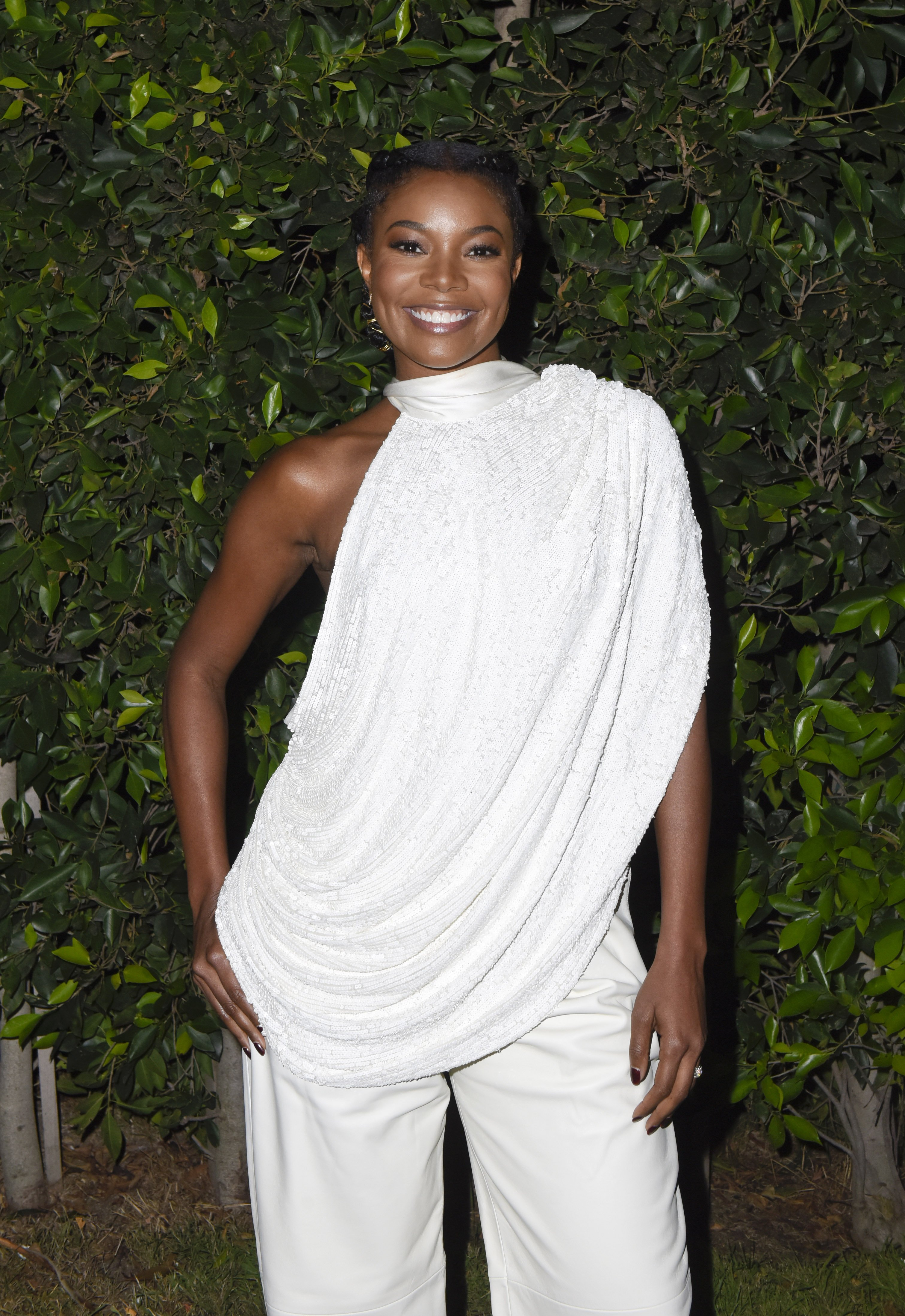 """Gabrielle Union attends Cinespia's Screening Of """"Bring It On"""" on July 6, 2019, in Hollywood, California. 