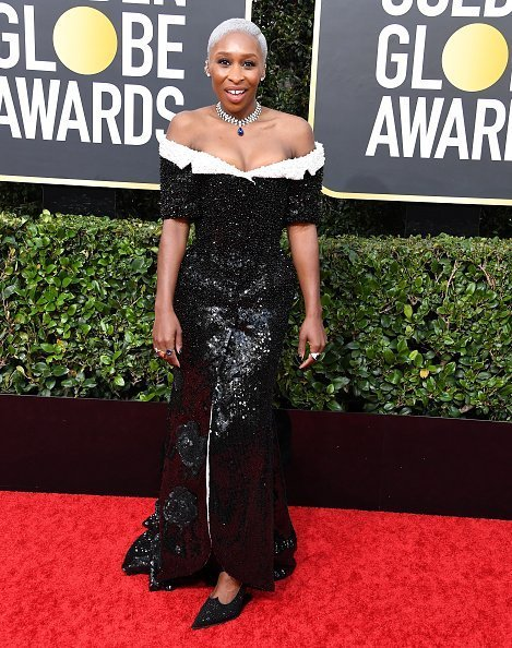Cynthia Erivo arrives at the 77th Annual Golden Globe Awards attends the 77th Annual Golden Globe Awards at The Beverly Hilton Hotel in Beverly Hills, California | Photo: Getty Images