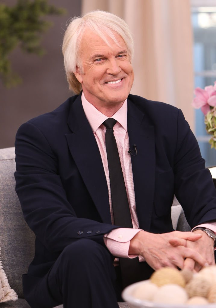 """John Tesh visits Hallmark Channel's """"Home & Family"""" on March 06, 2020, in Universal City, California. 