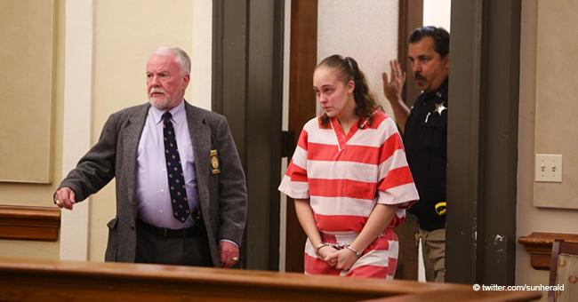 Ehemalige Polizistin weint, als sie wegen Todes ihrer Tochter zu 20 Jahren verurteilt wird