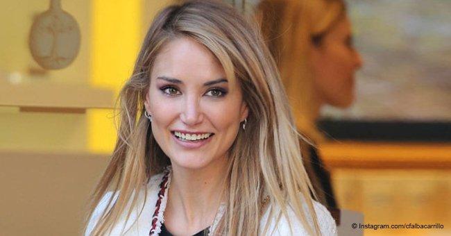 Presentadora de Telecinco Alba Carrillo está enamorada nuevamente, y es de otro deportista élite