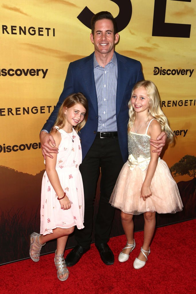 Tarek El Moussa with his daughters | Getty Images