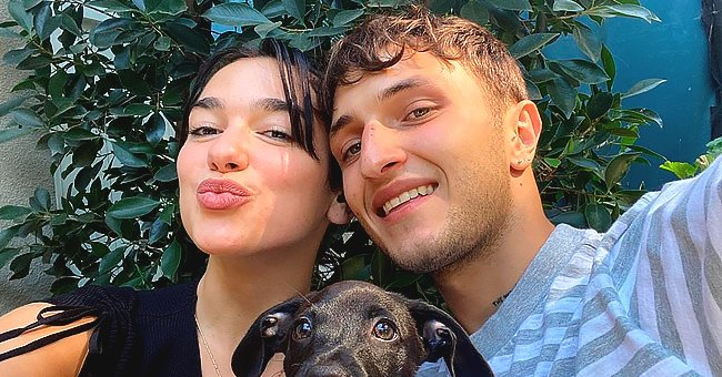 Take a Look at Dua Lipa and Anwar Hadid's Adorable New Pup Dexter (Photos)